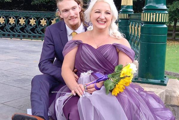 Bride Janine (Weston-Super-Mare, UK)